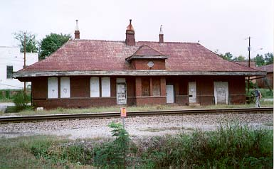 Rockingham Depot Before Relocation